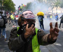 """Zamieszki w Paryżu. W akcji znowu """"Żółte Kamizelki"""""""