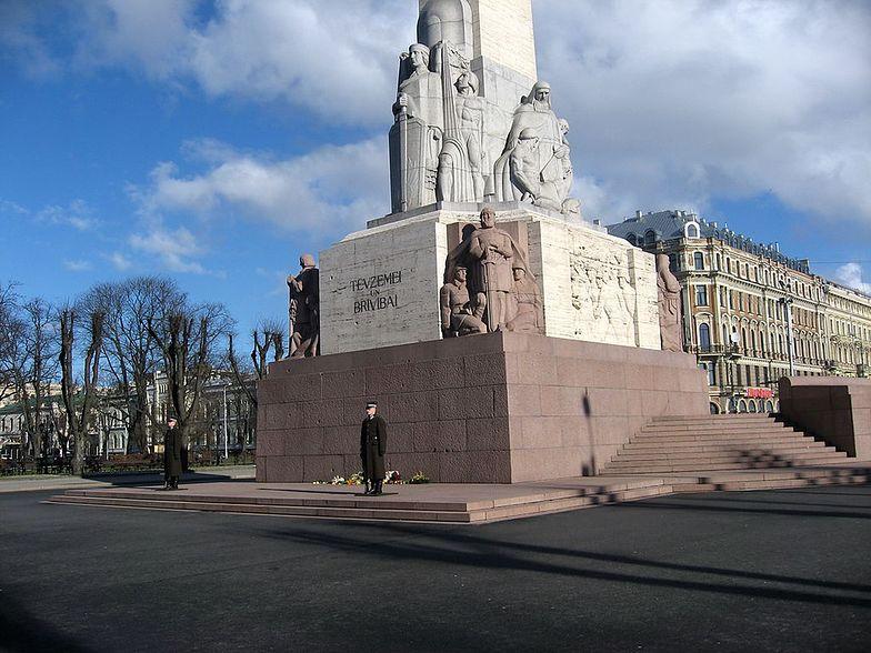 Budowa Pomnika Wolności została sfinansowana ze składek mieszkańców Łotwy