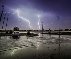 Burze z gradem i intensywne opady deszczu we wschodniej i centralnej Polsce