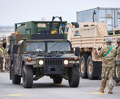 Dolny Śląsk. Wypadek busa na A18, 7 osób rannych - to amerykańscy żołnierze