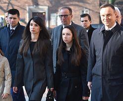Marta Kaczyńska odwiedziła grób rodziców