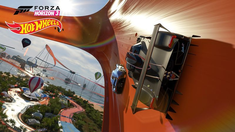 Was też nie było stać na tory Hot Wheels? Spokojnie, jest Forza Horizon 3
