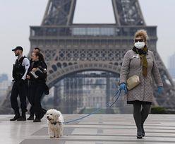 Koronawirus we Francji. Ponad 350 tysięcy ludzi ukaranych za złamanie zasad kwarantanny
