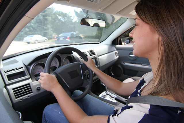 Prowadzenie auta w złości