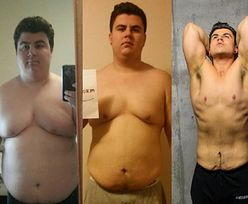 Nie wiedział, czym są kalorie. Zrzucił 65 kg i został trenerem