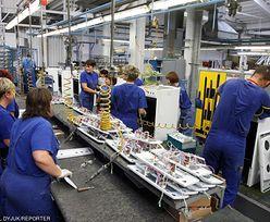 Produkcja przemysłowa w górę rok do roku, ale spada miesiąc do miesiąca
