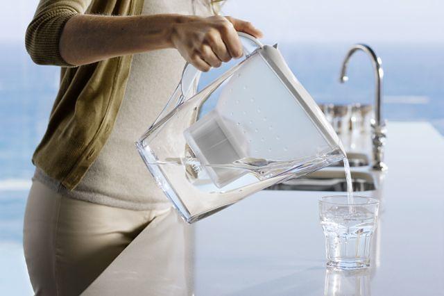 Picie wody - filtrowanie wody
