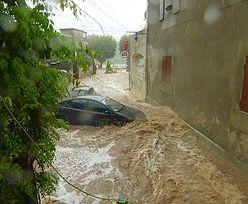 Francja. 1600 osób ewakuowanych z powodu ulewy. Woda porywa nawet samochody