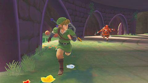 Tak zaczyna się The Legend of Zelda: Syward Sword. Czekaliście?
