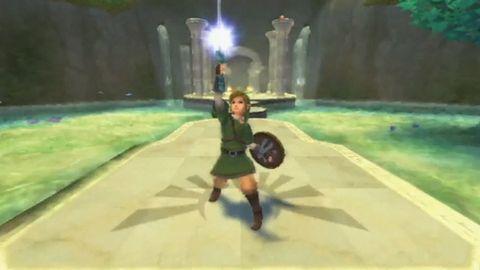 Tak przywita nas pożegnalny występ Linka na Wii