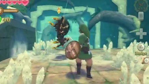 Zelda: Skyward Sword - 5 minut z Linkiem