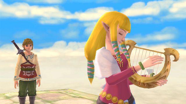 Zelda: Skyward Sword jest prześliczna [GALERIA]