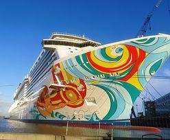 Największy pasażerski statek w Polsce. Nasze porty takiego giganta jeszcze nie widziały