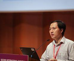 Chiny. Naukowiec, który stworzył genetycznie zmodyfikowane dzieci, został skazany