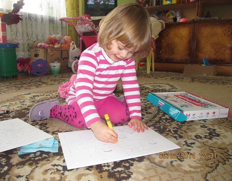 Puzzlowanki Malowanki to kreatywna zabawa dla dzieci