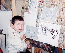 Zaczął rysować w wieku 2 lat. Po 14 latach jest prawdziwym mistrzem