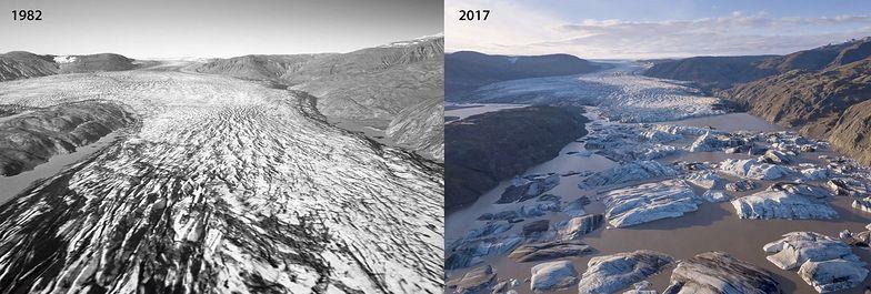 Islandia. Porównali zdjęcie do stanu sprzed 40 lat. Wstrząsający efekt