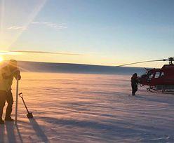 Nowe odkrycie na Antarktydzie. Schowane pod lodowcem