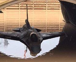 Wpadka armii Izraela. Samoloty F-16 zniszczone przez ulewę