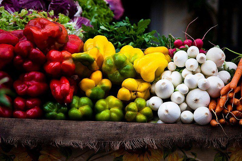 Smukła sylwetka - warzywa w diecie