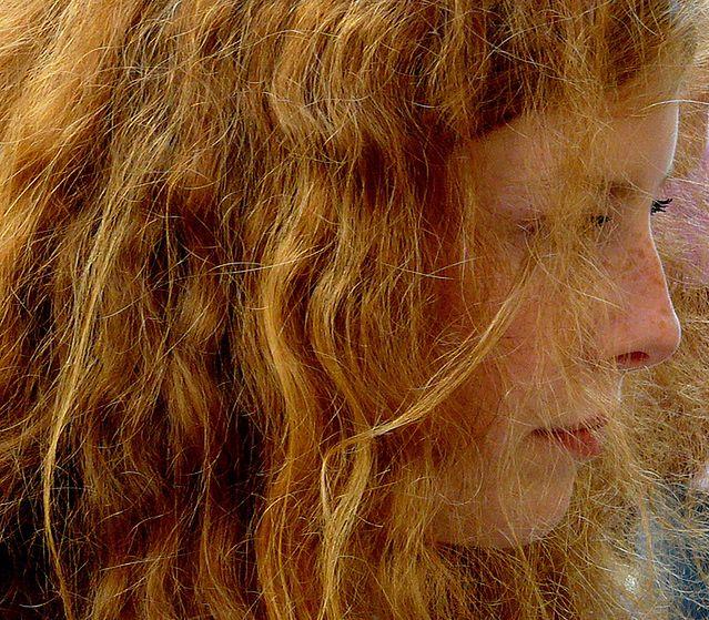 Matowe i szorstkie włosy