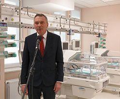 Dyrektor szpitala MSWiA, w którym leczono Kornela Morawieckiego, stracił pracę