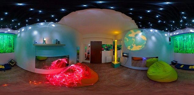 Kolorowa sala