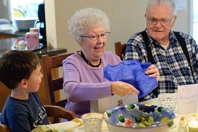Kontakt z dziadkami