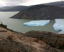 W Chile oderwał się ogromny kawałek lodowca. Spektakularny widok