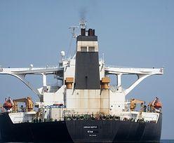 Gibraltar. Iran przestał udawać. Bandera Panamy zniknęła ze statku