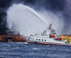 Tankowiec płonął przez tydzień. Nikt nie przeżył