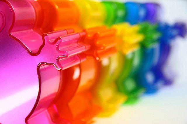 Kolorowe zabawki