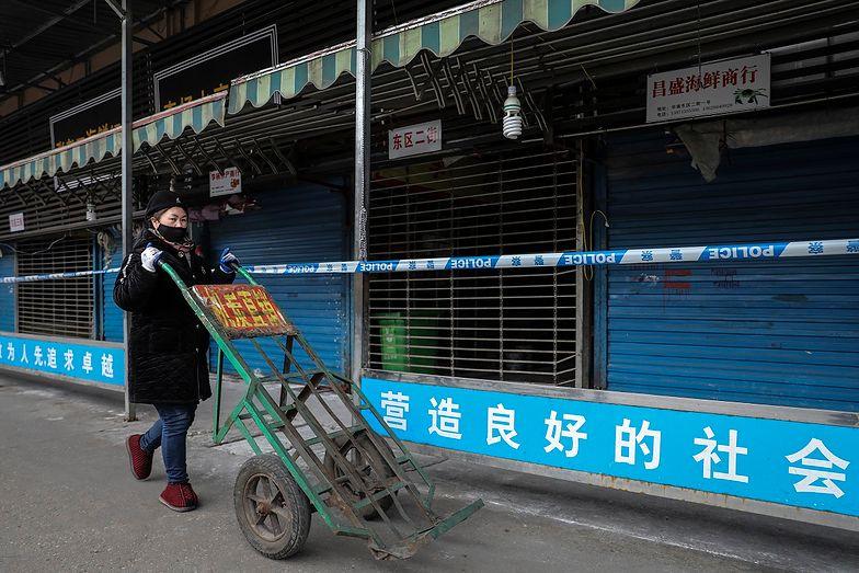 Epidemia rozpoczęła się w Wuhan