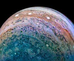 Takich zdjęć Jowisza jeszcze nie widzieliście. Wbijają w fotel