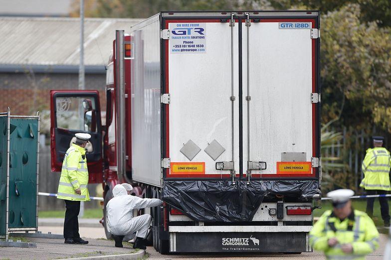 Anglia. Auto z 39 ciałami. Małżeństwo aresztowane