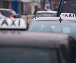 Taksówkarz chciał naciągnąć klienta. Gdy przyszło do płacenia mina mu zrzedła