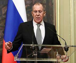 Rosja kontra NATO. Siergiej Ławrow zaskoczony ws. Niemiec