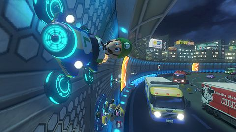 Mario Kart 8 wygląda naprawdę świetnie