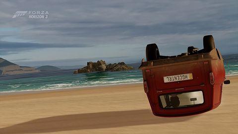 Aktualizacja Forzy Horizon 3 na PC okazała się niezabezpieczonym buildem pełnej gry