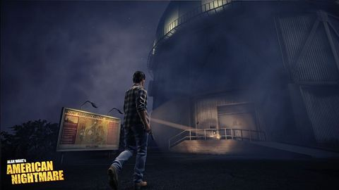 Pisarz i jego latarka, czyli paczka obrazków z nowego Alana Wake'a