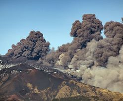 Przebudził się wulkan Etna