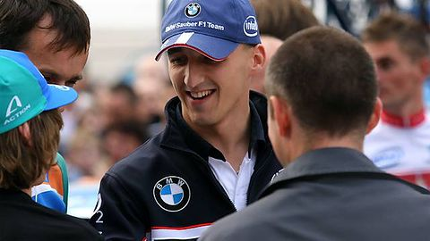 Robert Kubica wymiata w Richard Burns Rally