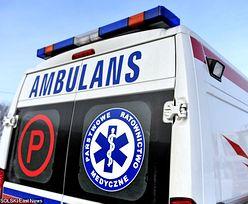 Auto roztrzaskało się o autobus. 18-latka nie żyje, dwie 16-latki walczą o życie