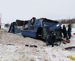 Rosja. Tragiczny wypadek autokaru z dziećmi