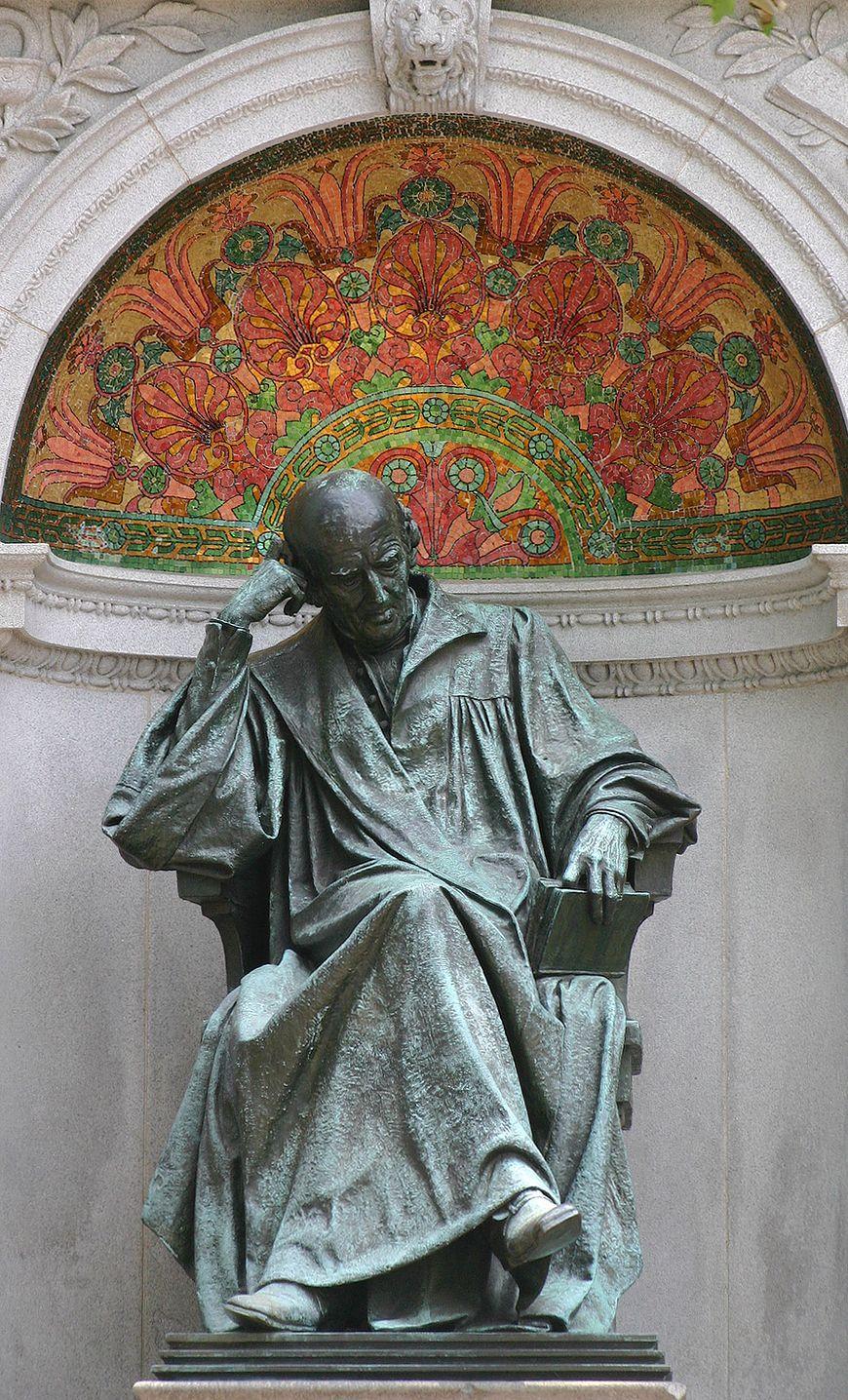 Zdjęcie pomnika Hahnemanna w Waszyngtonie