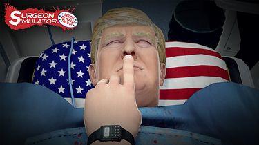 Może Donald Trump nie lubi gier, za to ich twórcy lubią jego. I lubią się z niego śmiać