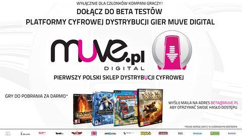 Muve Digital - ruszają betatesty polskiego sklepu dystrybucji cyfrowej
