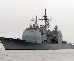 USA i Chiny. Igraszki USS Antietam w Cieśninie Tajwańskiej