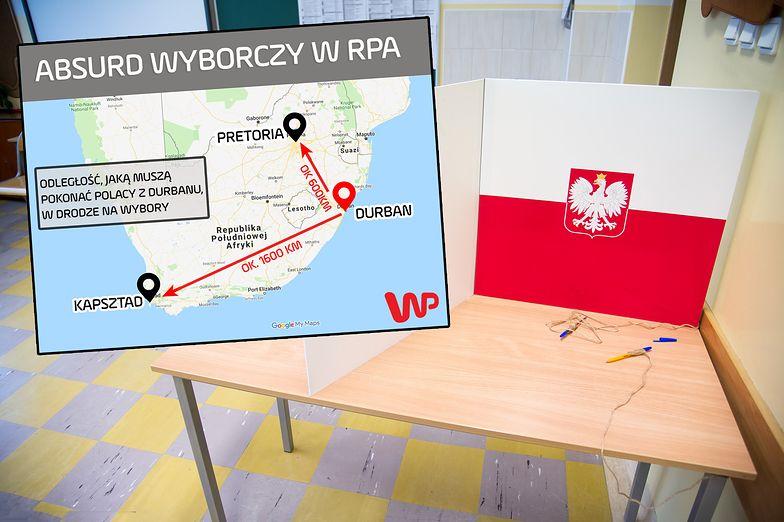 Wybory parlamentarne będą problemem dla Polaków mieszkających w Durbanie (RPA).