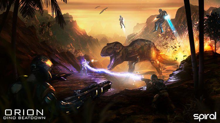Orion: Dino Beatdown - jeszcze więcej dinozaurów. I jetpacków